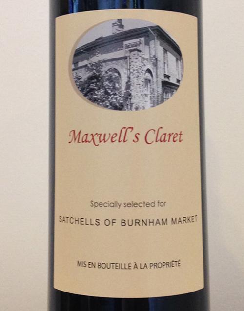 Maxwell's Claret 2012.