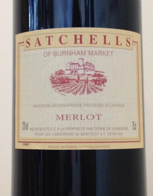 Satchells Merlot.