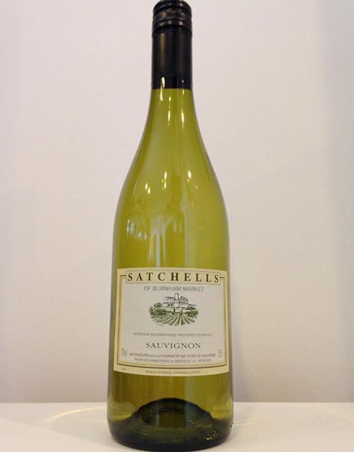 Satchells Sauvignon Blanc.